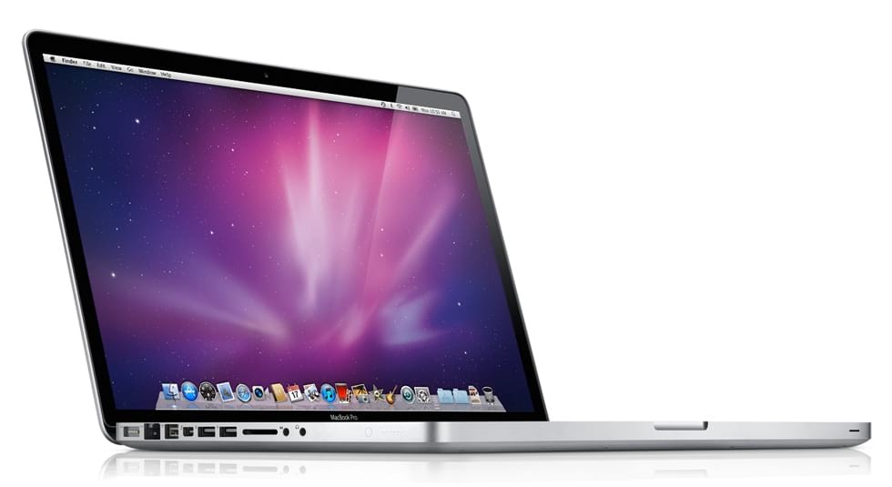 A promo image of the 2011 Macbook Pro